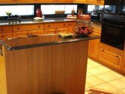 New counter tops and back splash