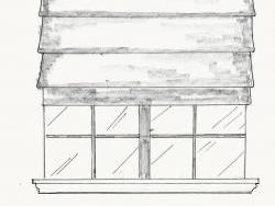 Proposed shade design concept.