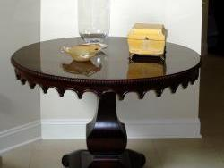 New Foyer table - click enlarge for more detail