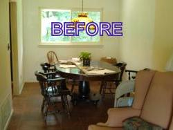 WP Dining area before