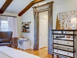 Paramus Mirrored drawers and custom built door surround