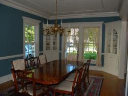 "Dining Room with custom built in's ""IN PROGRESS"""