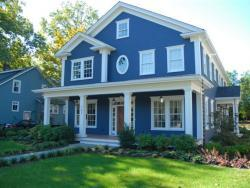 Private residence - Westfield NJ - Exterior color palette specified